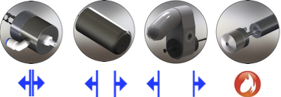 Family of Ultrasonic Nozzles